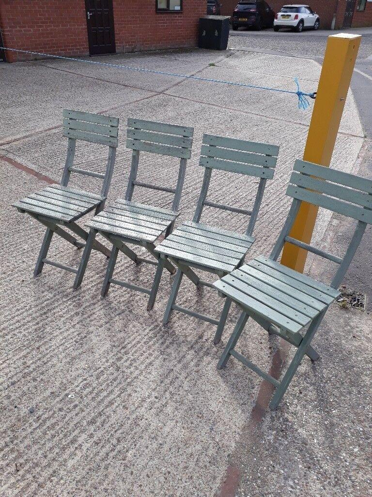 Garden Chairs - Set of 4