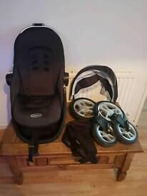 Graco symbio parts seat hood wheels basket