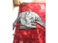 Apache leathers motorbike jacket
