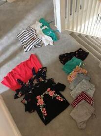 Girls 10-12 summer clothes bundle.