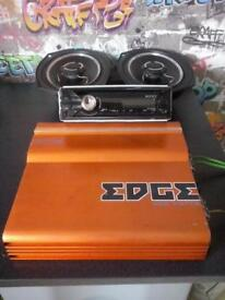 SONY USB STEREO/EDGE AMP/VIBE SPEAKERS