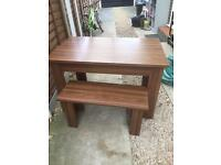 Kitchen table and seats