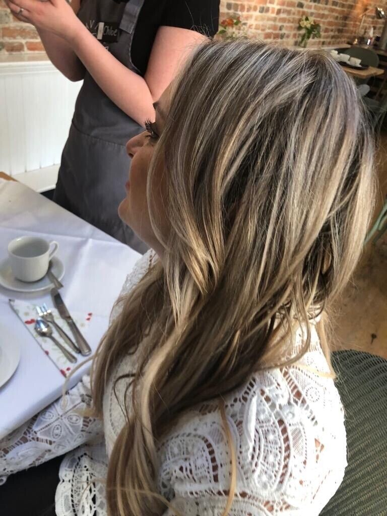 Beuatiful Individual bond hair extensions without the salon ...