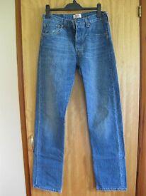 Levi 501 Jeans W32, L34