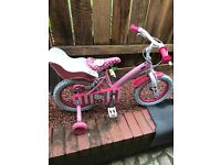 Girls hello kitty bike age 4-6