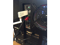 Custom Built Gaming PC - 8 Cores, 4.4ghz, SSD +HDD, Watercooled CPU etc.