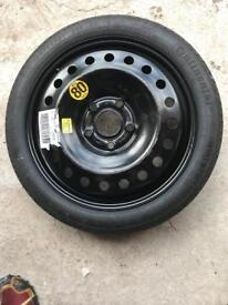 Vauxhall Insignia (2009 - 14) Space saver tyre