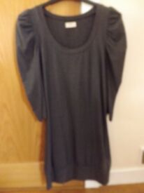 New Look Grey Top Size 12