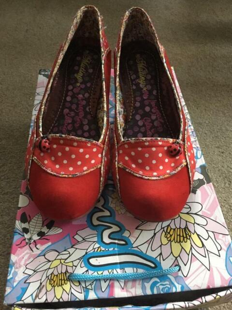 fd8266de81f Irregular Choice Red Ladybug size 38 | in Truro, Cornwall | Gumtree