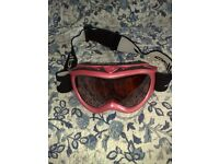 BEAUTIFUL SKI GOGGLES - MAKE IS JULBO - PINK COLOUR - TOP CONDITION - AS NEW -