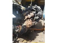 ford transit 135 engine and box