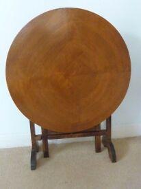 Vintage Wooden Folding Table