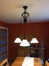 Pulley Dining Table Light