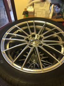 Brand new wheels