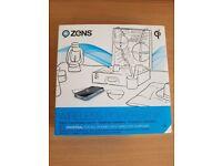 Zens 4500mAh Power Bank Qi Wireless Charger