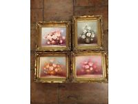 4 Immaculate Oil Paintings