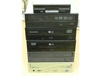 5 x CD / DVD / RW & ROM Drive - Ascot Berks