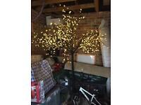 7ft Outdoor / In door tree with remote control lights