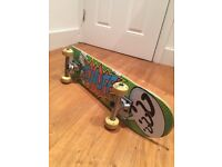 Wooden Skate Board - Very Good Condition. Used only three times.