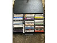 A Mixture of Cassette Tapes