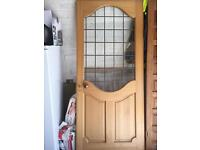 Oak & Glass external/internal door
