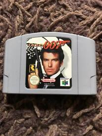 Nintendo 64 goldeneye game. N64