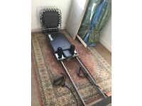 Aero Pilates reformer with cardio board