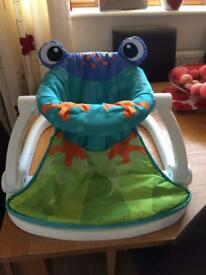 Fisher Price Frog Sit Me Up Seat