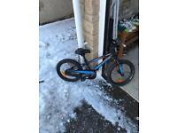 """Kid 16"""" Specialized hot rock bike"""