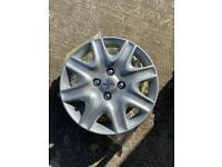 Peugeot wheel trims 15inch