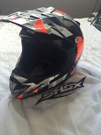 Shox Motocross Helmet for Sale