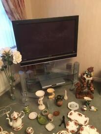 Sony Plasma wide screen with surround sound