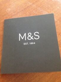 M&S £10 giftcard