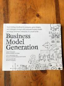Business model generation by Alexander Osterwalder and Ives Pigneur