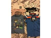 3-4 years boys t-shirt bundle