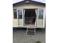 2 bed static caravan at Sand le Mere Holiday village 38x12