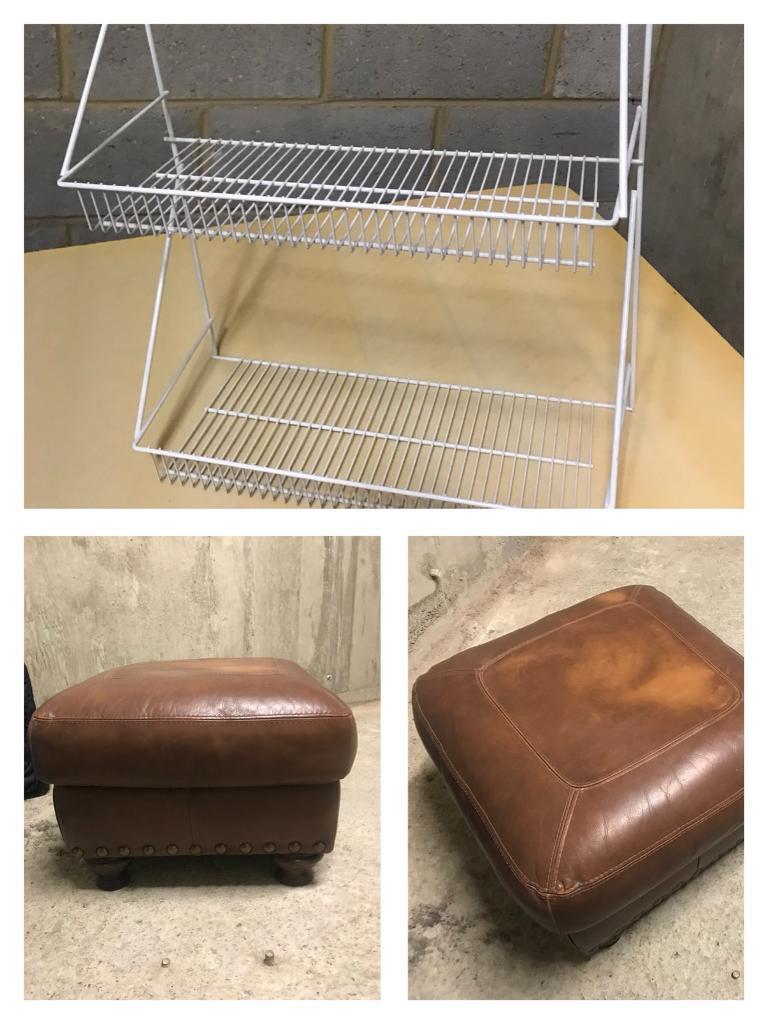 EVERYTHING MUST GO!: foot stool, jewellery case, beauty case, door mats, laptop bag etc!