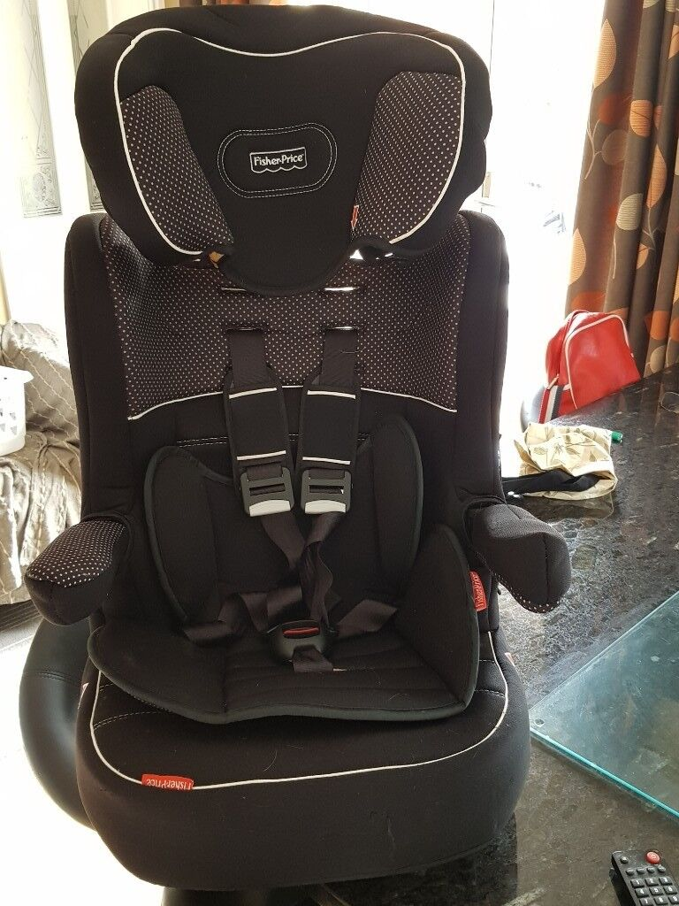 FISHER PRICE CHILDS CAR SEAT 9