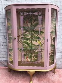 Art Deco Drinks Cabinet ~ Display Cabinet ~ Gin Cabinet
