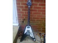 Gibson Epiphone Flying V Guitar