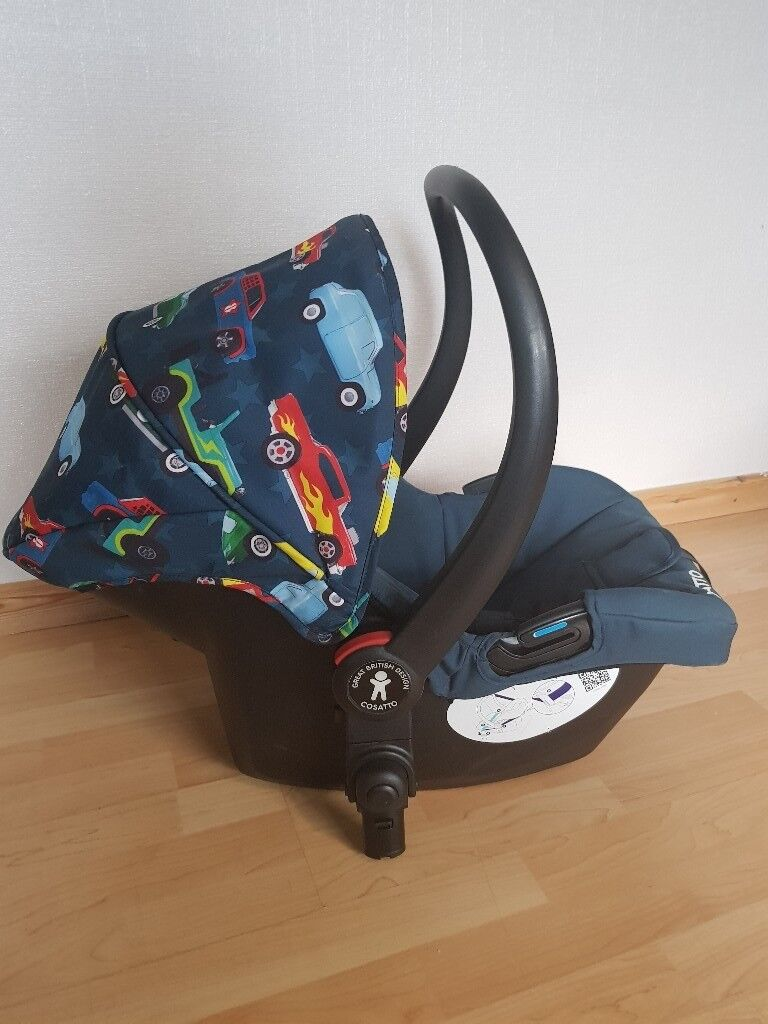 Cosatto new born car seat