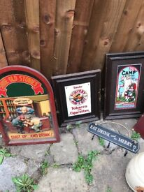 Old pubs signs
