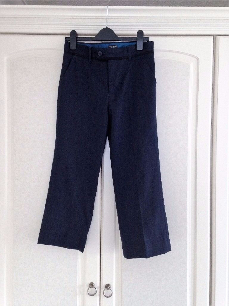 Boys size 12 years navy trousers from Next - ONLY BEEN WORN ONCE!!!!