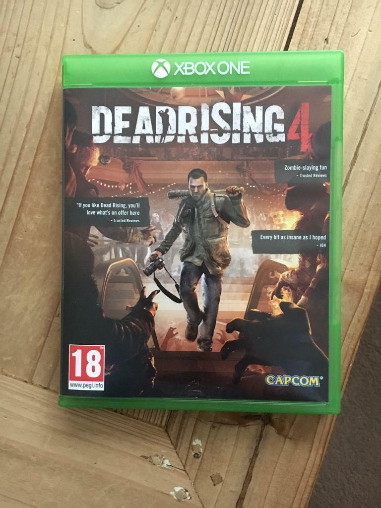 Dead Rising 4 Xbox One Played Once Swap In Gateshead Tyne And Playstation