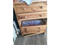Wonky chest of drawers