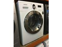 SAMSUNG 7/5 KG WHITE WASHER DRYER