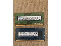 8GB (2x4GB) So-Dimm Laptop Ram