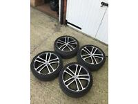 """Gtd alloy wheels and tyres Genuine 18"""""""