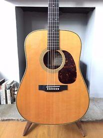 Martin HD-28V custom dreadnought acoustic guitar