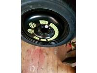 Citreon c3 picasso emergency tyre and wheel